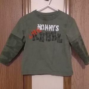 Mommy's Little Rebel tee (24 MOS boys)